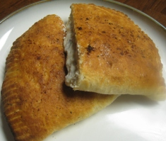 ricotta and pepperoni calzone