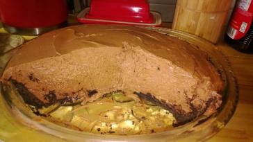chocolate bailey's cream pie