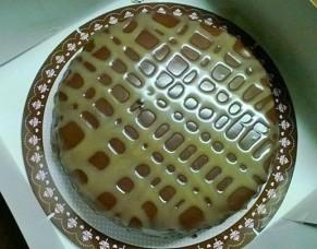chocolate turtle cheesecake