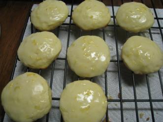 lemon ricotta cookies with orange glaze