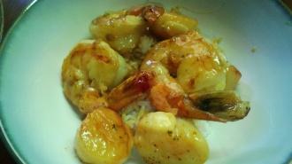 shrimp and scallop scampi