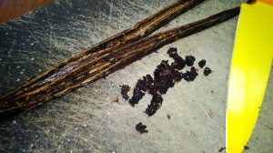 vanilla beans and seeds
