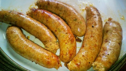 buffalo chicken wing sausages