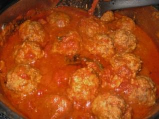 meatballs in sauce