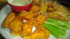 buffalo and asian zing wings