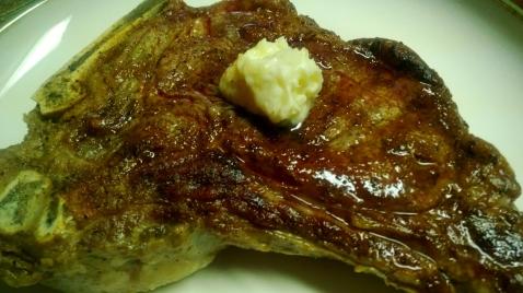 Steak with Horseradish Butter