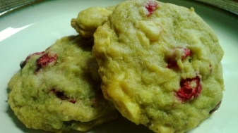 Cranberry White Chocolate Macadamia Nut Cookies