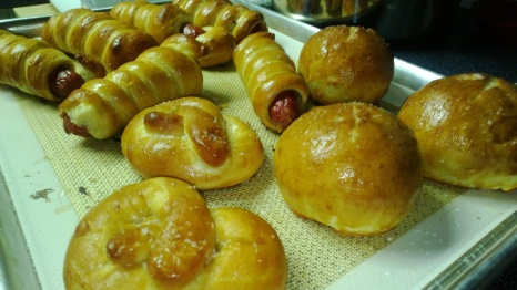 Pretzels, Pretzel Rolls and Pretzel Dogs