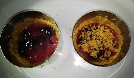 Mini-tarts prior to baking