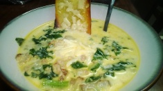 SAUSAGE, POTATO AND KALE SOUP (A.K.A. ZUPPA!)