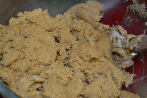 Bernice's Molasses Ginger Snap Cookie Dough