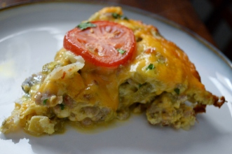 EGG AND HASH BROWN BREAKFAST PIE