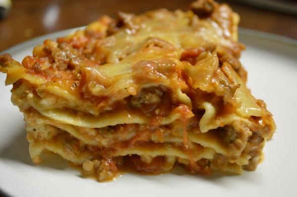 90-minute Sausage Lasagna