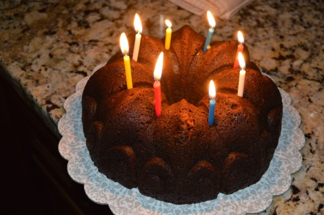 Chocolate Brownie Cake for my mom's 60th bday! We drove down the VA to surprise her! It was amazing!