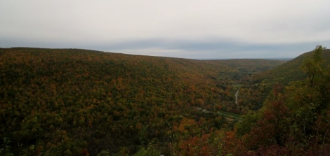Beautiful view on a glorious fall day! Can't wait for this again in a bit over a month!
